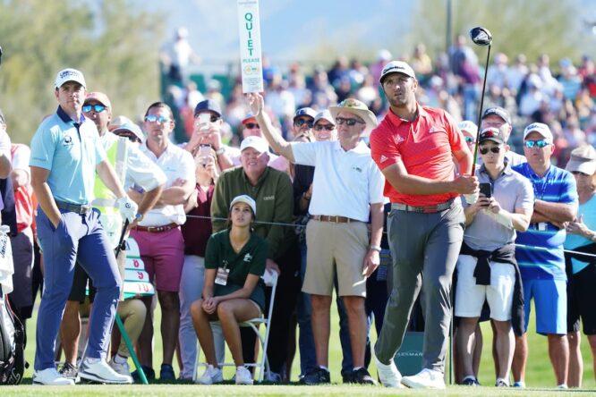 Jon Rahm, en el Phoenix Open en 2020 © Golffile | Phil Inglis