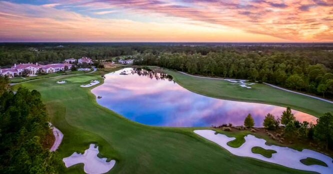 Hoyo 18 del The Concession Golf Club. © The Concession GC