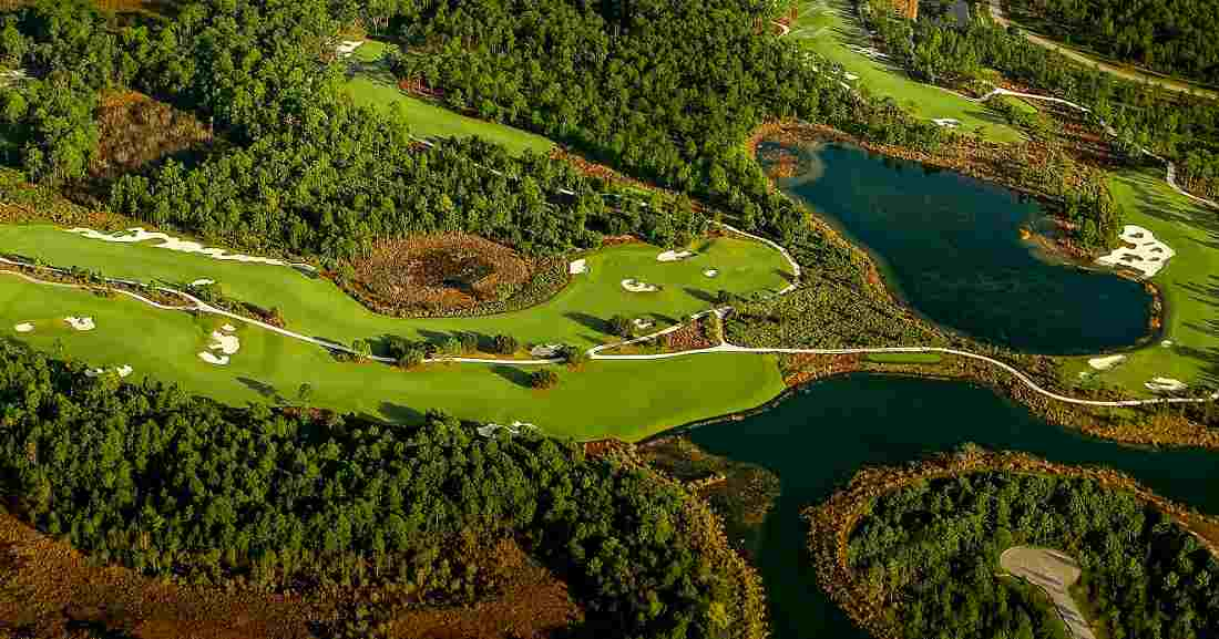 Hoyo 7 del The Concession Golf Club. © The Concession GC