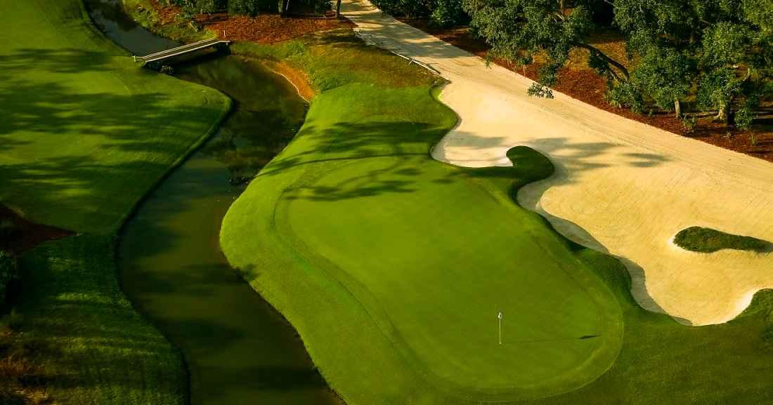 Hoyo 8 del The Concession Golf Club. © The Concession GC