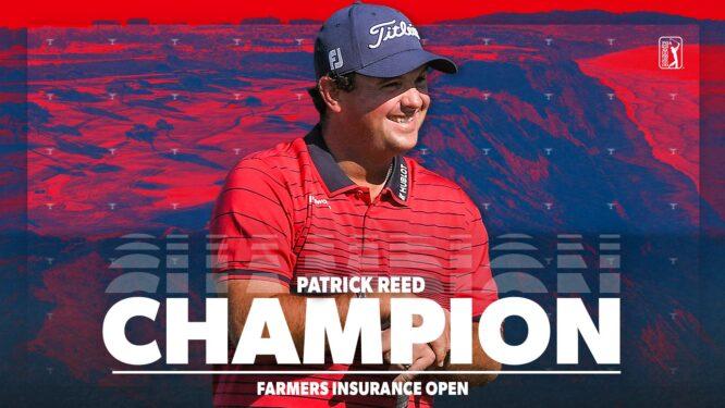Patrick Reed © PGA Tour