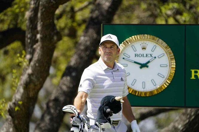 Sergio García durante la tercera jornada en el Austin Country Club. © Golffile | Eoin Clarke