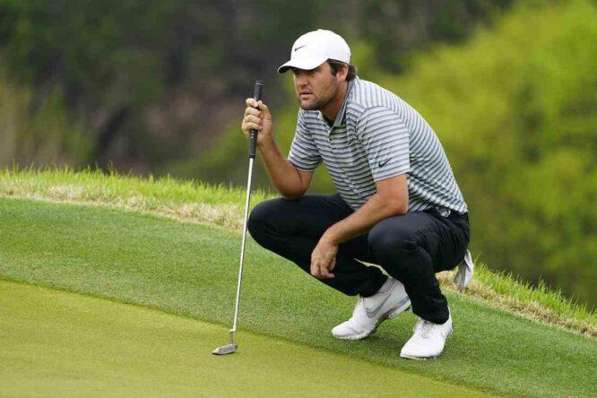 Scottie Scheffler durante la jornada del sábado en el Austin Country Club. © Golffile | Eoin Clarke
