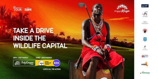 Cartel oficial de los torneos del European Tour en Kenia
