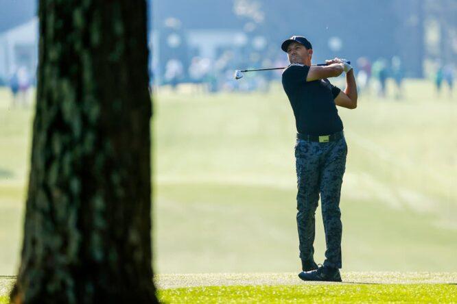 Sergio García, en las rondas de prácticas de hoy © The Masters