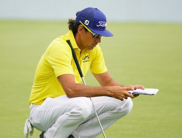 Rafa Cabrera Bello durante la segunda jornada en Meloneras Golf. © Golffile | Oisín Keniry