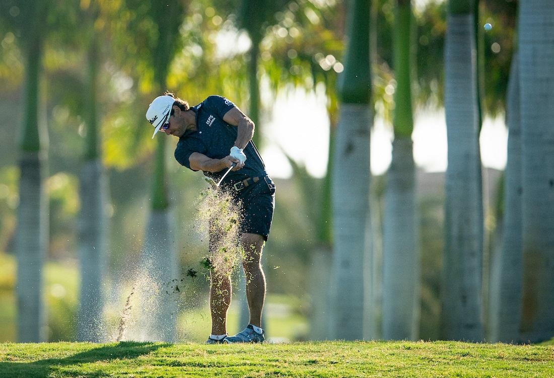 Rafa Cabrera Bello en el Pro-Am del Gran Canaria Lopesan Open. © Golffile | Oisín Keniry