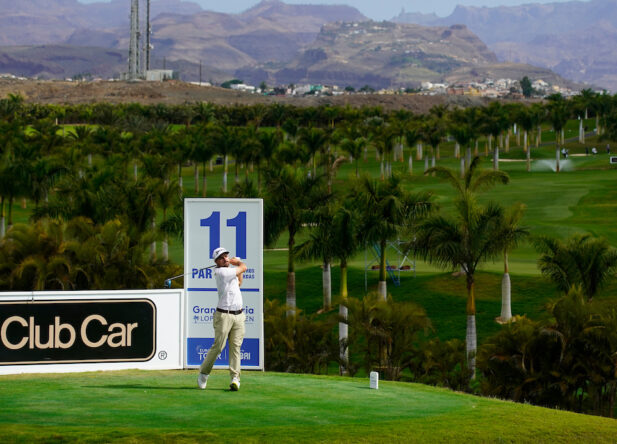 Alejandro del Rey durante la semana del Gran Canaria Lopesan Open. © Golffile   Oisín Keniry