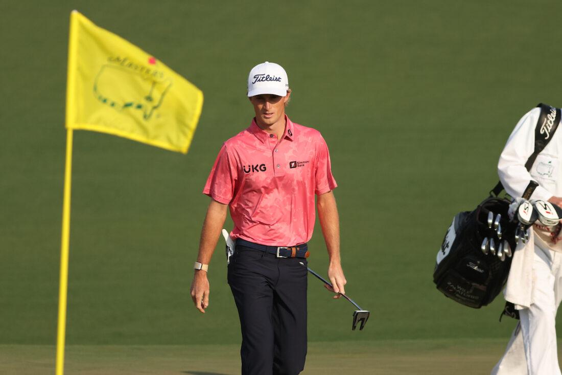 Will Zalatoris en la primera ronda del Masters de Augusta 2021. © Golffile | Scott Halleran
