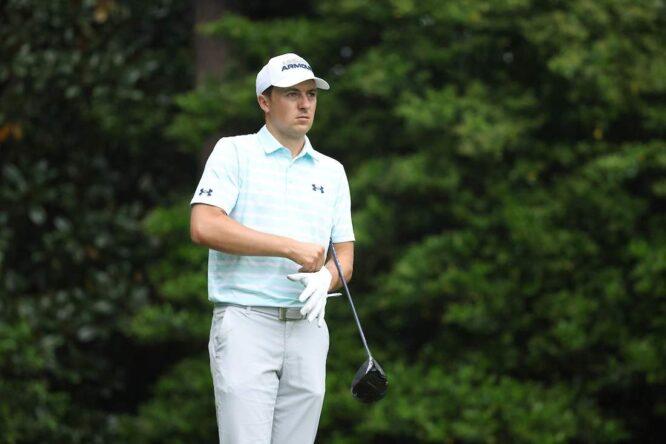 Jordan Spieth durante la tercera ronda del Masters de Augusta. © Golffile | Scott Halleran