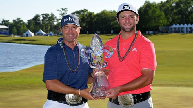 Ryan Palmer y Jon Rahm © PGA Tour