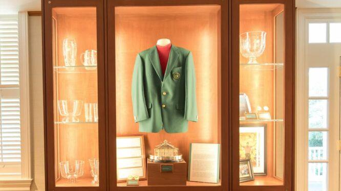 Vitrina de premios del Masters de Augusta © The Masters