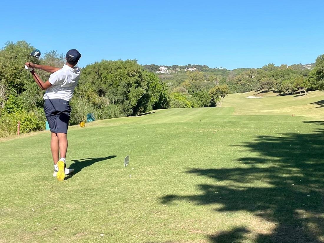 Primera jornada del XII Trofeo Barbesula en Club de Golf La Cañada.