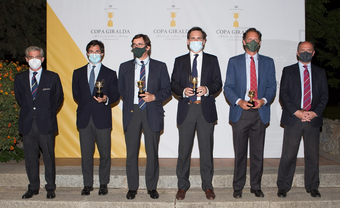 SUBCAMPEON - Felipe, JL Serra, Ignacio y JL Pablo-Romero