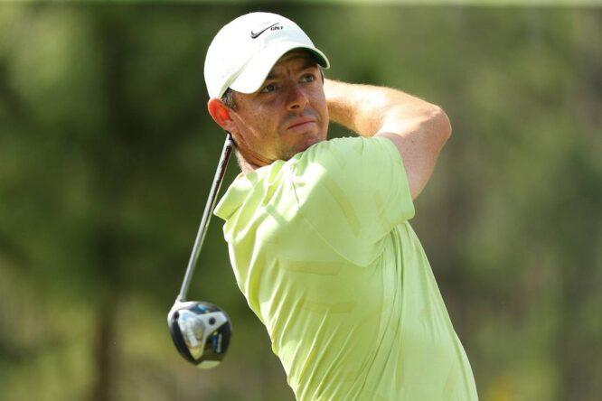 Rory McIlroy se ha metido en la ecuación ganadora en el Wells Fargo. © Golffile | Scott Halleran