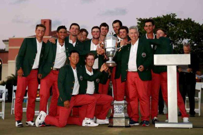 El equipo americano, campeón de la Walker Cup 2021 (© Golf Digest | Ryan Harrington)