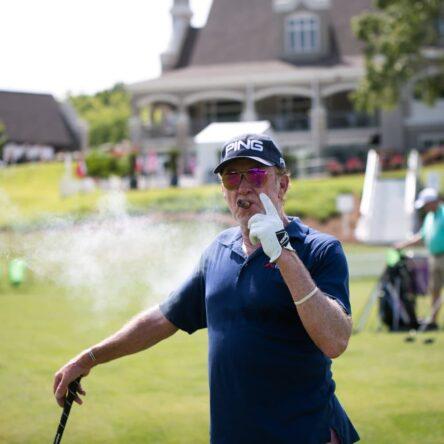 Jiménez, en el Regions Tradition © PGA Champions Tour