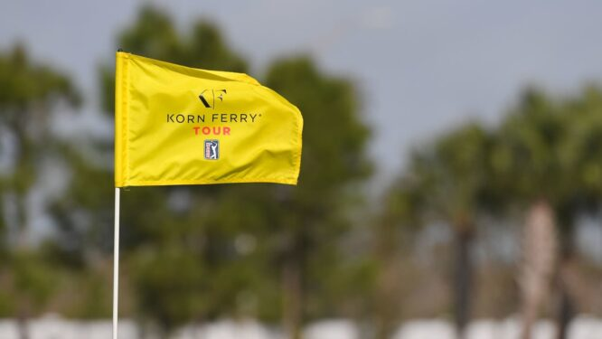 Bandera en el Korn Ferry Tour © PGA Tour