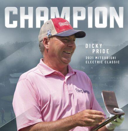 Dicky Pride © PGA Champions Tour