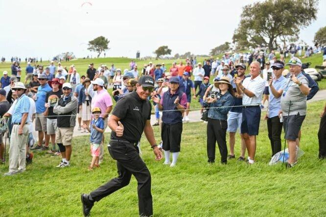 Phil Mickelson, en el US Open 2021 © USGA