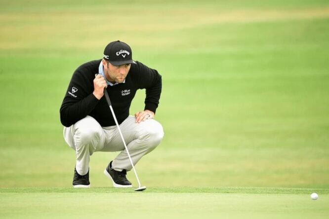 Jon Rahm, ayer en el US Open © USGA