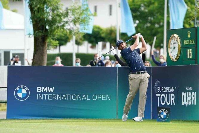 Pablo Larrazábal durante la segunda jornada del BMW International Open. © Golffile   Stefano Di Maria