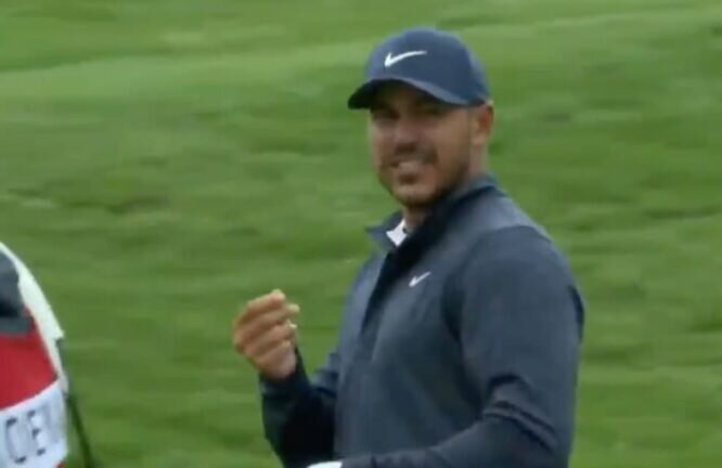 Koepka, pidiéndole su dinero a JT © PGA Tour