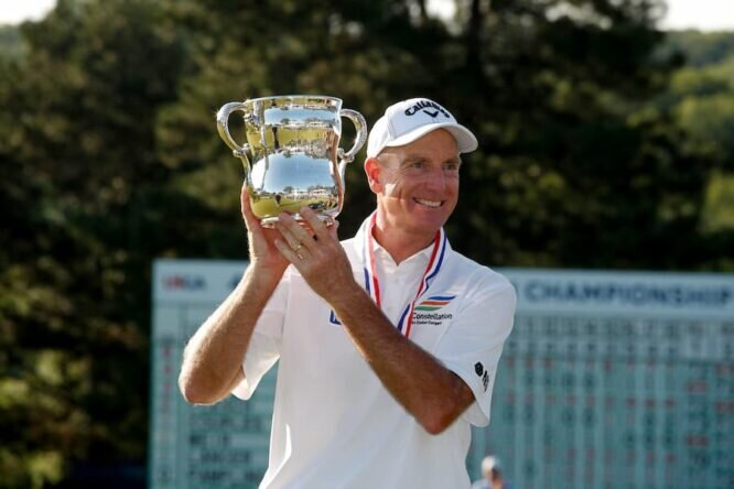 Jim Furyk, ganador del US Senior Open © USGA