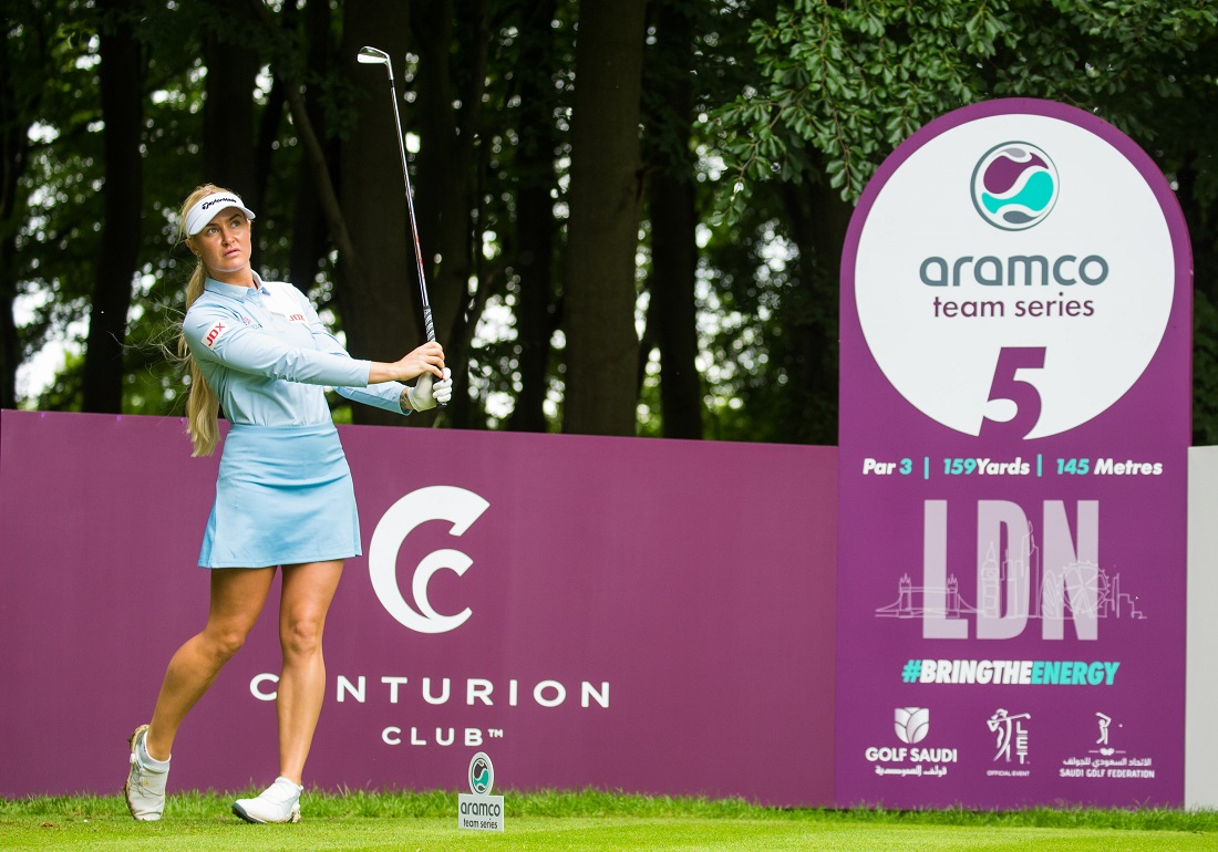 English favourite Charley Hull will follow her London ATS appearance with Sotogrande.