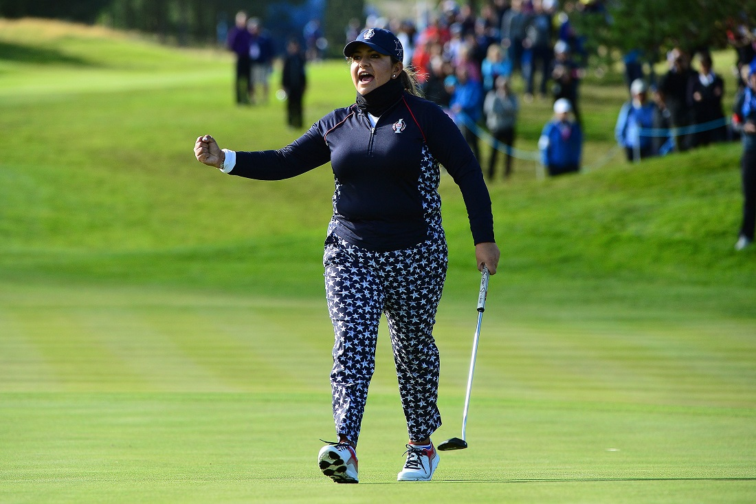 Four-time US Solheim Cup player Lizette Salas is also in the field.