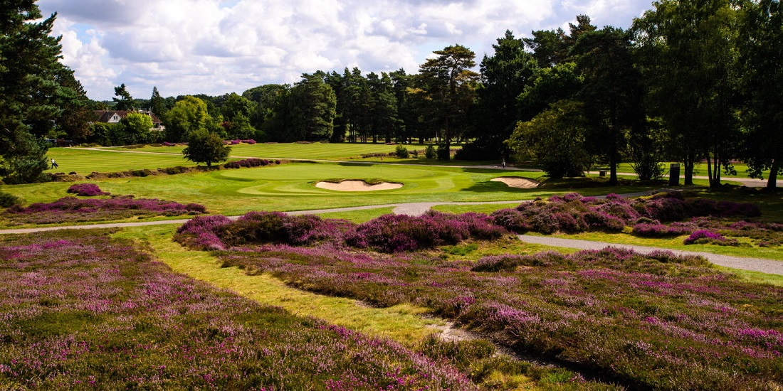 Hoyo 13 del Old course de Sunningdale. © Sunningdale Golf Club