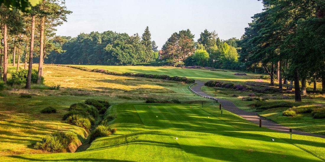 Hoyo 2 del Old course de Sunningdale. © Sunningdale Golf Club