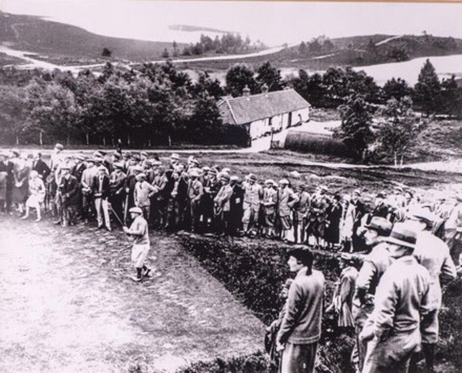 Bobby Jones en Sunningdale en 1926. © Sunningdale Golf Club