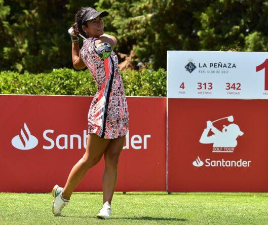 Piti Martínez Bernal en el Santander Golf Tour LETAS Zaragoza.