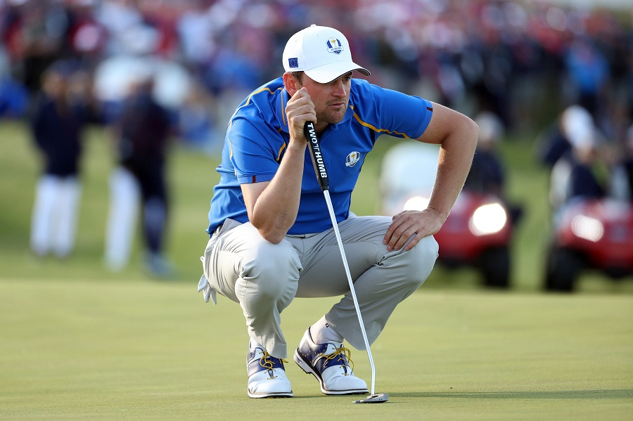 Bernd Wiesberger, first Austrian to play the Ryder Cup. © Getty Images